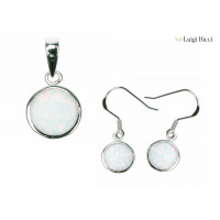 Buy 925 Sterling Silver Jewelry Sets With Opal Stone On Sale Online
