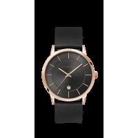 Buy Luigi Ricci Roma Classica Black Unisex Wrist Watch With Leather