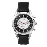 Black Magic Classic Sports Watch For Men With Black/Silver Dial