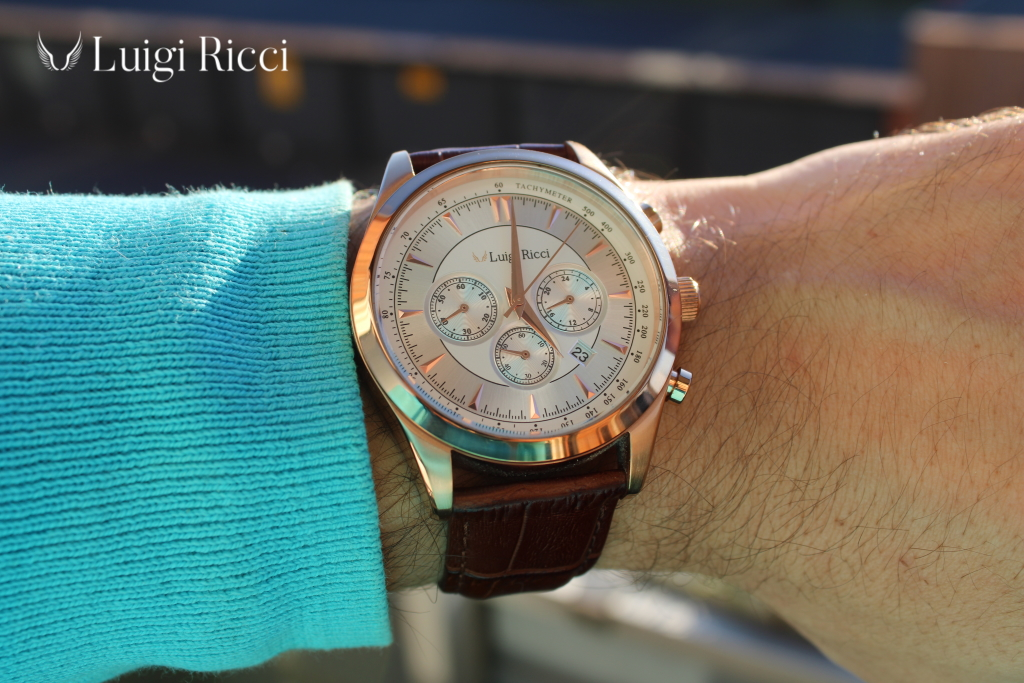 Luigi Ricci Eleganza mens watch - The italian quality watch at affordable prices