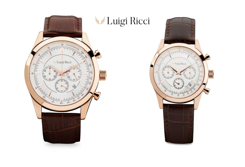 Luigi Ricci Eleganza wrist watch Gift Box