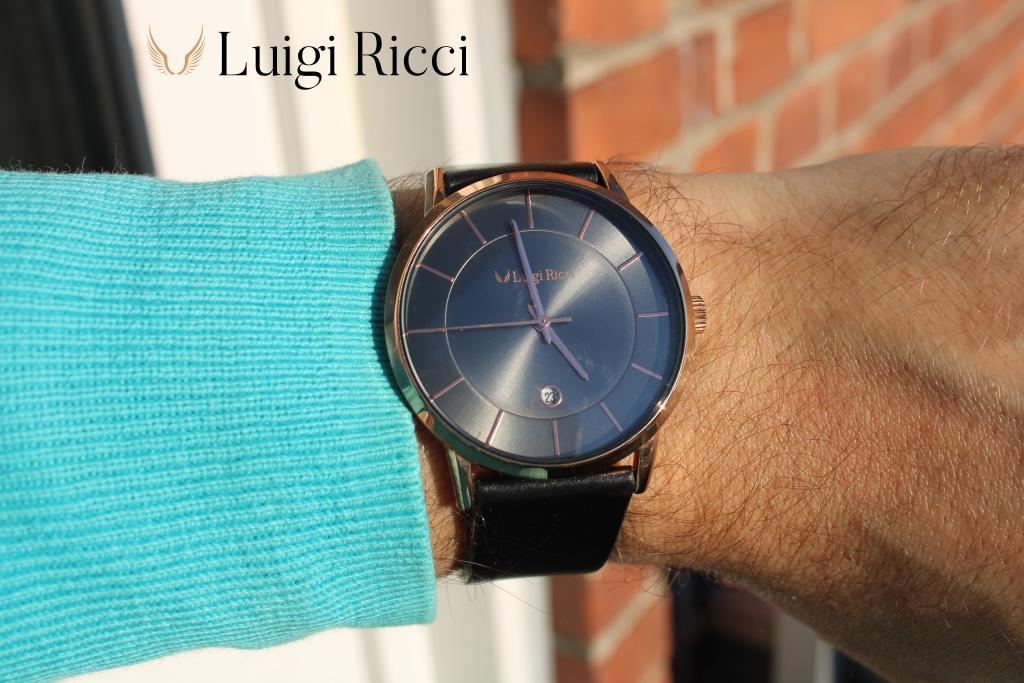 Luigi Ricci Roma Classica - Italian luxury watch at affordable price