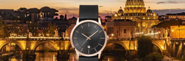 We introduce our new Roma Classica unisex watch